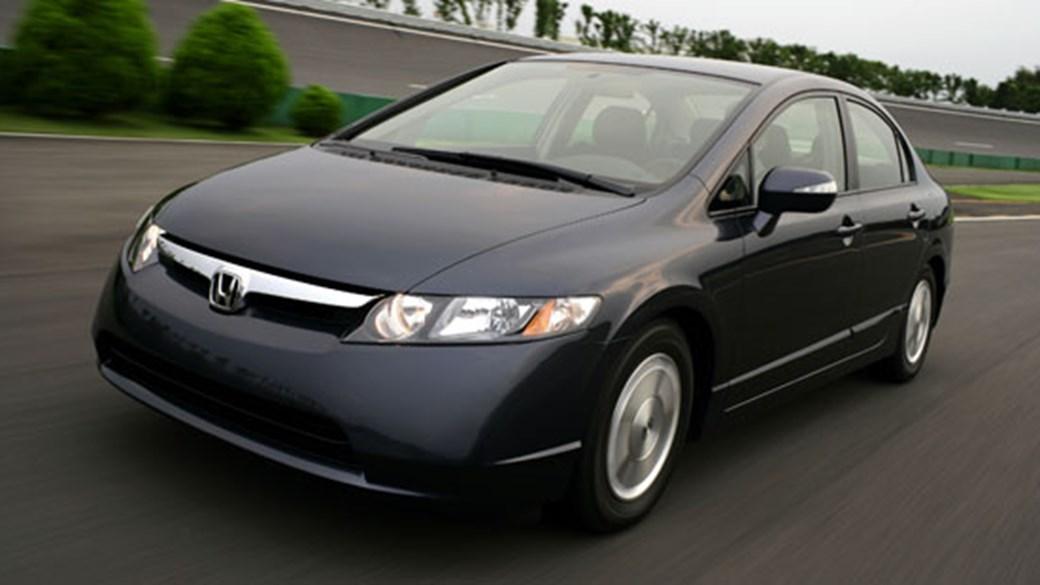 Honda Civic IMA CAR (2007) Review