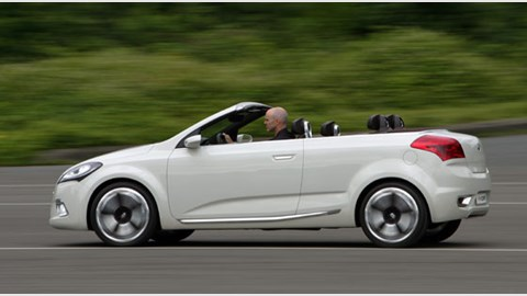 Kia Exceed Cabrio 2007 Concept Review