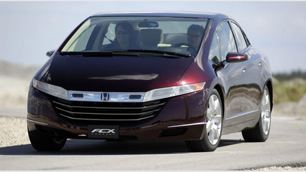 Honda FCX fuel-cell concept car (2007) review | CAR Magazine