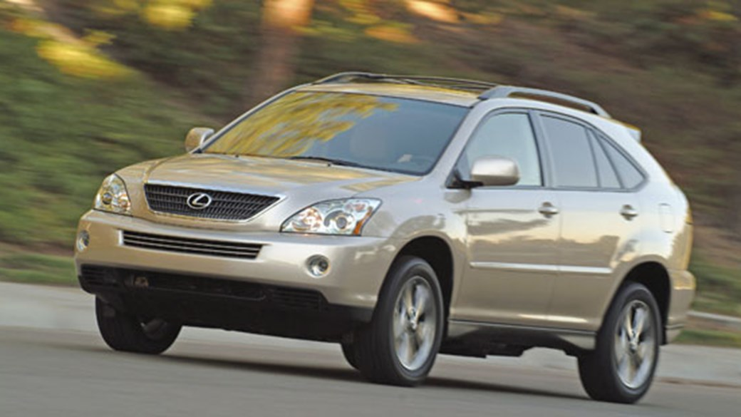 2008 lexus rx400h review