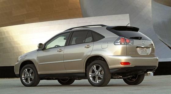 2008 lexus rx400h review