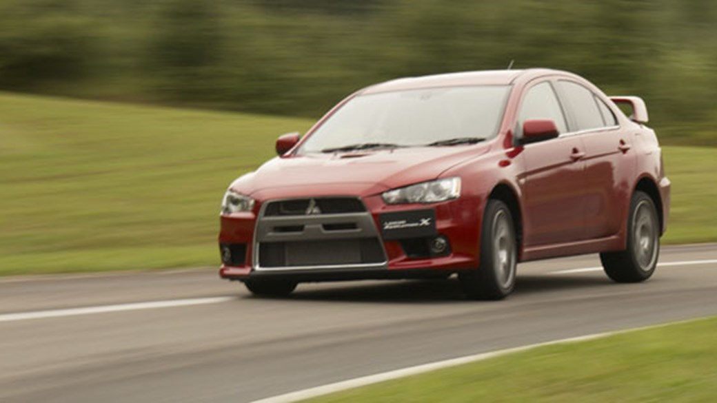 Charming Mitsubishi Lancer Evo X (2007) Review