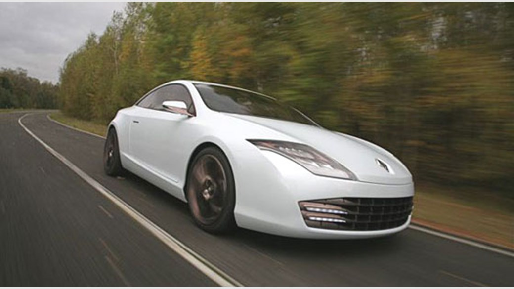 Renault Laguna Coupe concept 2007 review by CAR Magazine