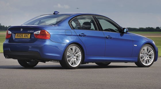 bmw 330d m sport 2007 review by car magazine. Black Bedroom Furniture Sets. Home Design Ideas
