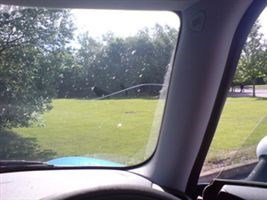 Mini Cooper S long term test windscreen