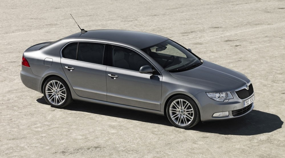 Skoda Superb 2008 First Official Pictures By Car Magazine