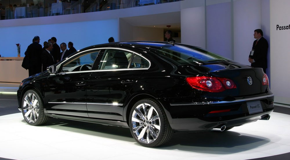 volkswagen passat cc at detroit show 2008 by car magazine. Black Bedroom Furniture Sets. Home Design Ideas