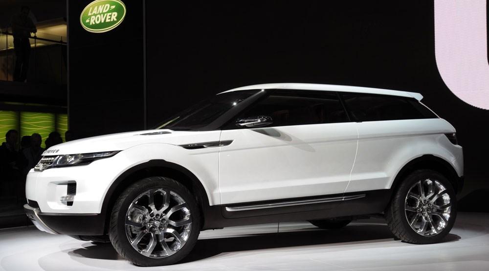 Land Rover Lrx At Detroit Car Magazine
