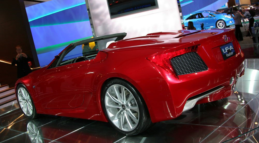 Lexus LF-A Roadster (2008): first official pictures | CAR Magazine