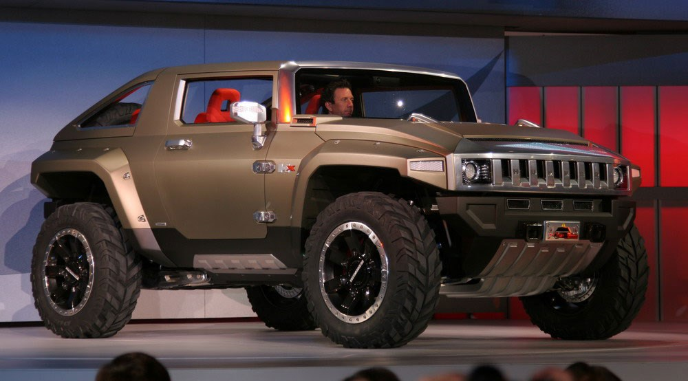 Hummer HX concept (2008): first official picturesHX | CAR ...