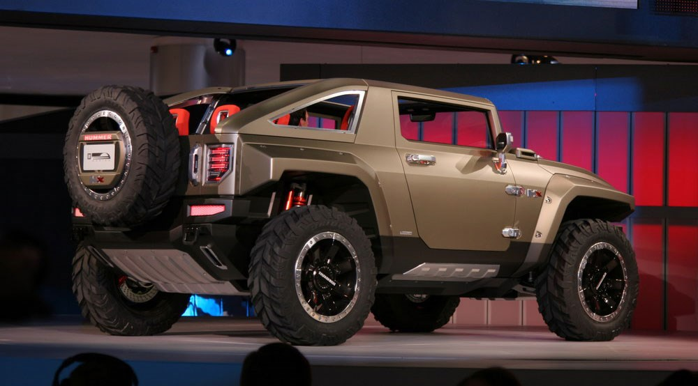 Hummer Hx Concept 2008 First Official Pictureshx Car Magazine