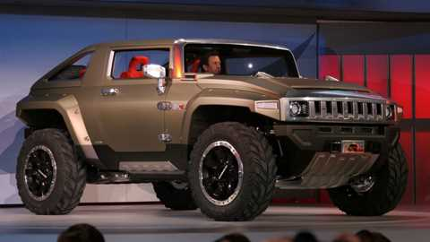 The Hummer Hx Concept Was One Of Surprise Hits This Year S Detroit Show Penned By Three Young Designers It Is Pure Car Madness
