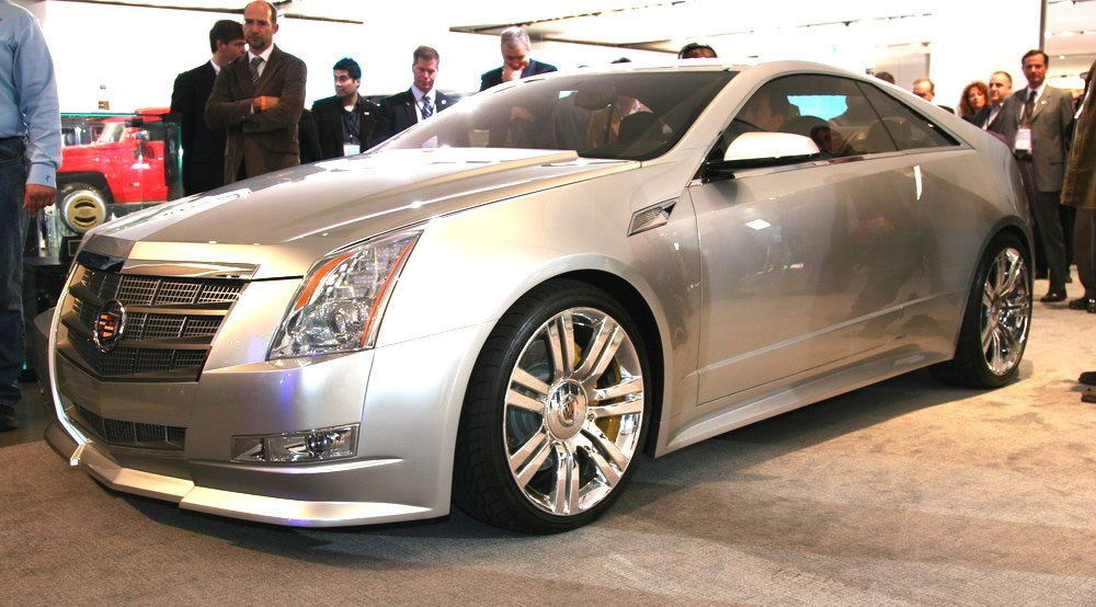 Cadillac Cts Coupe Cts V 2008 First Official Pictures