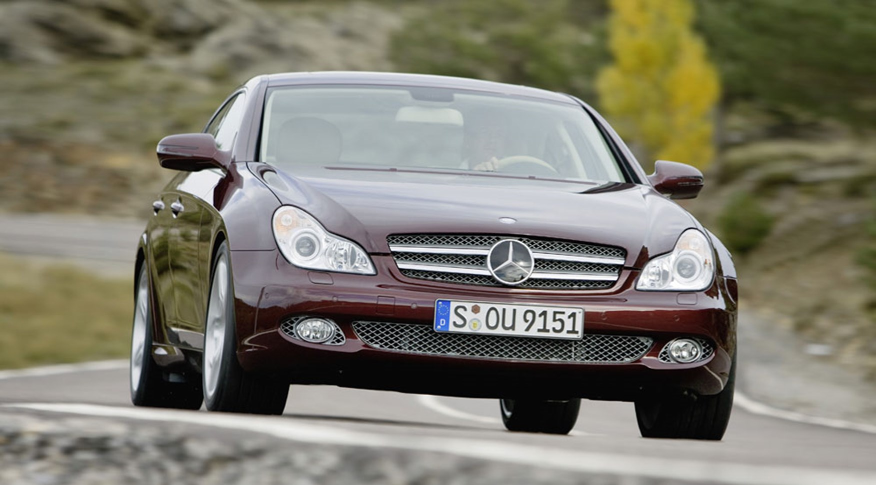 Mercedes Cls Facelift 2008 First Official Pictures By