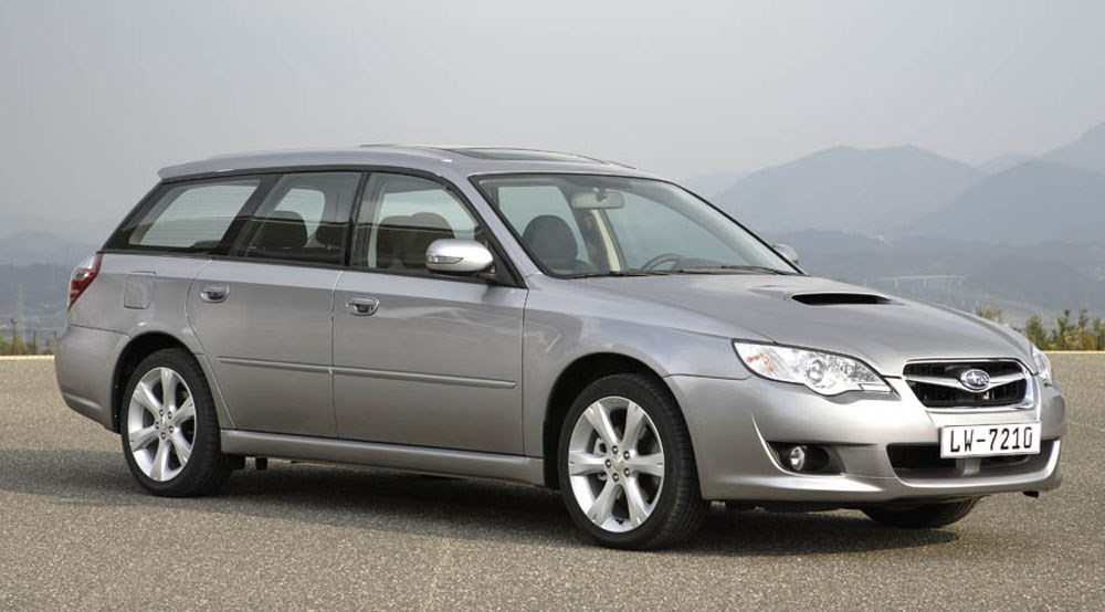 subaru legacy sports tourer 2 0td re 2008 review car. Black Bedroom Furniture Sets. Home Design Ideas