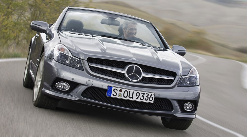 Mercedes SL facelift (2008): first official pictures by CAR Magazine