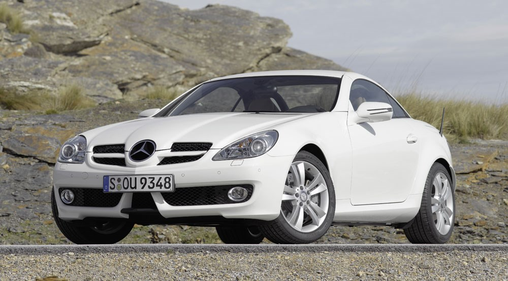 mercedes slk350 2008 review by car magazine. Black Bedroom Furniture Sets. Home Design Ideas