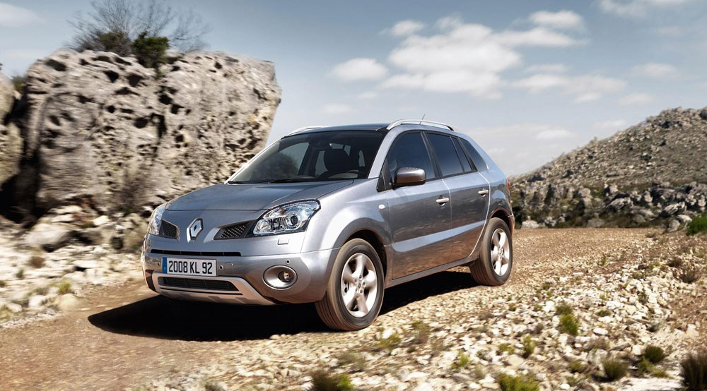 renault koleos 2008 first official pictures by car magazine. Black Bedroom Furniture Sets. Home Design Ideas