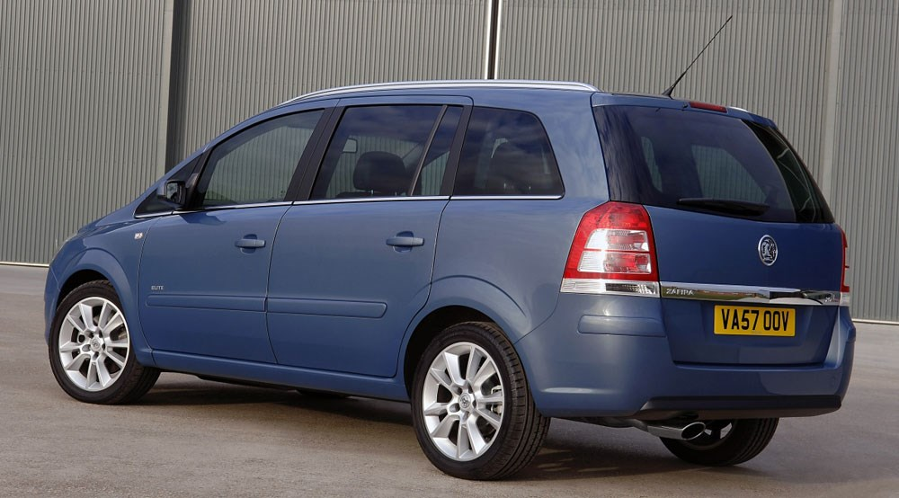 vauxhall zafira 2008 first official pictures by car magazine. Black Bedroom Furniture Sets. Home Design Ideas