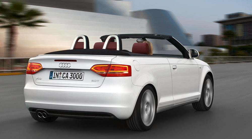 Audi A3 Cabriolet 2.0T Sport (2008) Review