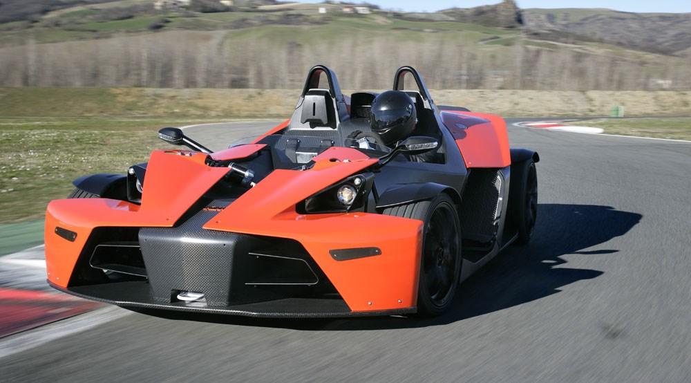 ktm's four-wheeled futurecar magazine