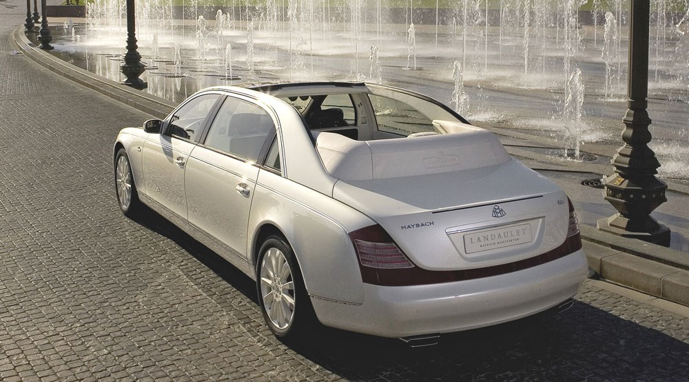 maybach's £678k landaulet (2008): first official pictures | car magazine