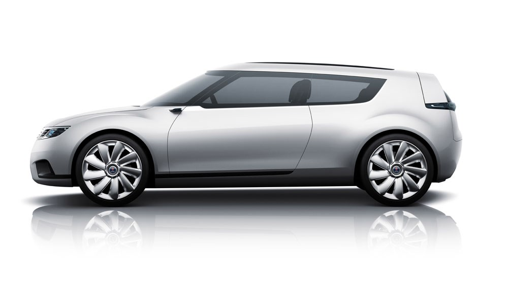 Saab 9 X Biohybrid Concept 2008 First Official Pictures Car