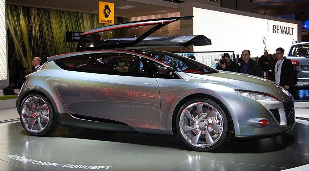 renault megane coupe concept by car magazine. Black Bedroom Furniture Sets. Home Design Ideas