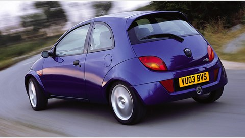 Ford Sportka Rear Three Quarter