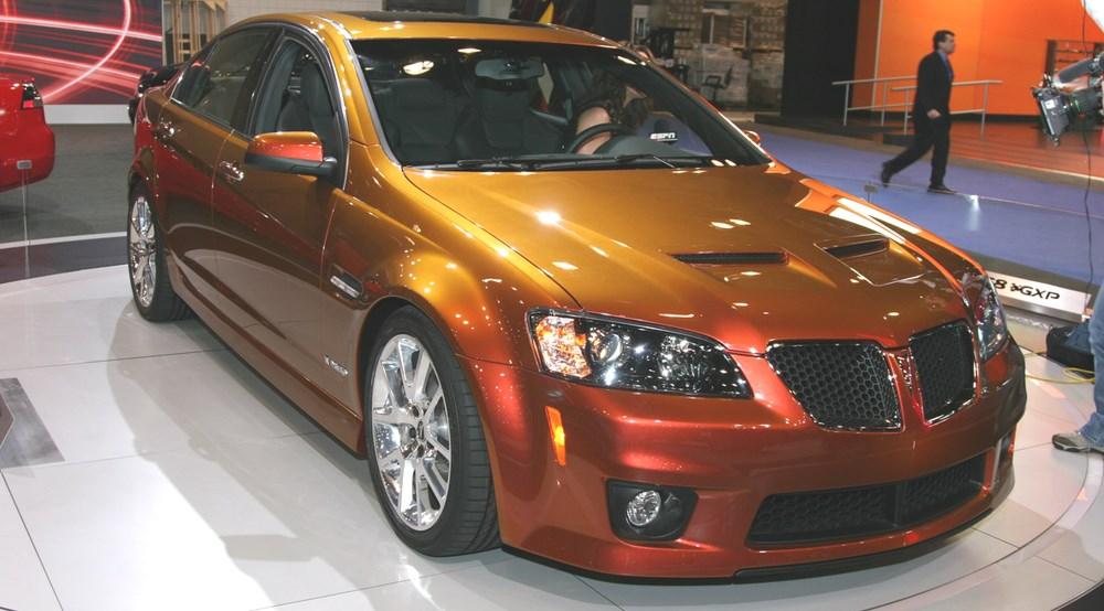 Pontiac G8 GXP   CAR Magazine