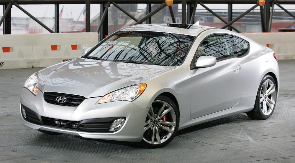 Hyundai Coupe. Hyundai Genesis Coupe