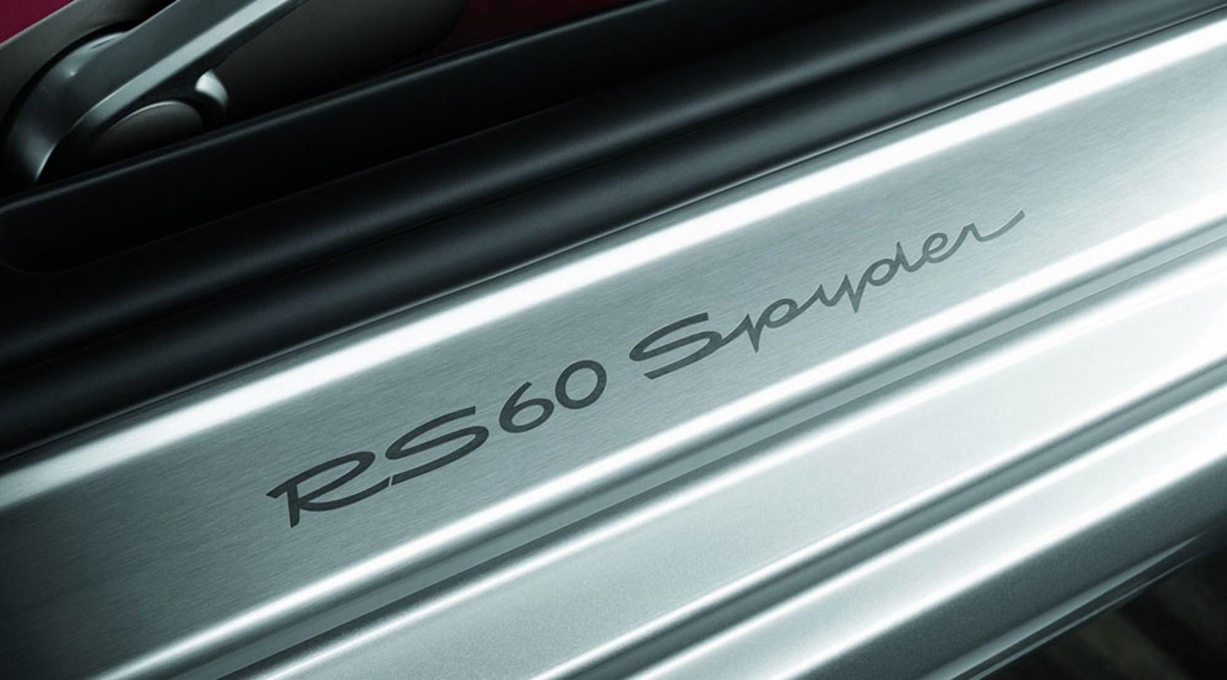 Porsche Boxster Rs 60 Spyder 2008 Review Car Magazine