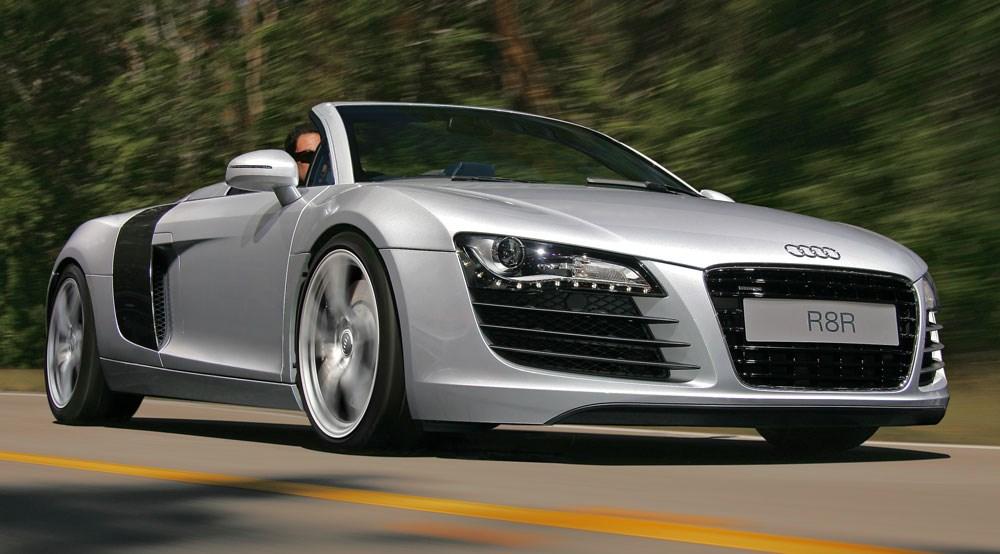Audi R8 Spyder Top Images