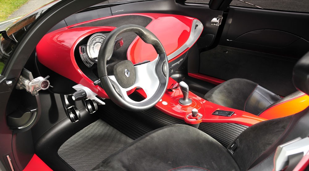 Renault Megane Coupe Interior Renault Megane Coupe Concept