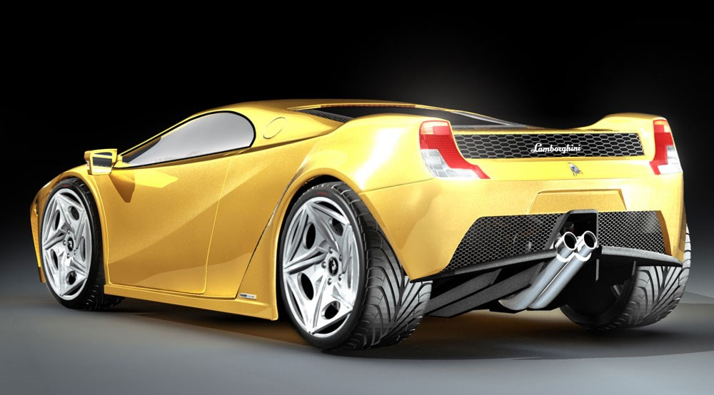 Lamborghini Ferruccio 2008 First Official Pictures By