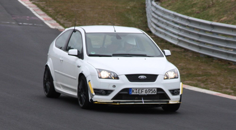 Ford Focus Rs 2008 Scooped Car Magazine