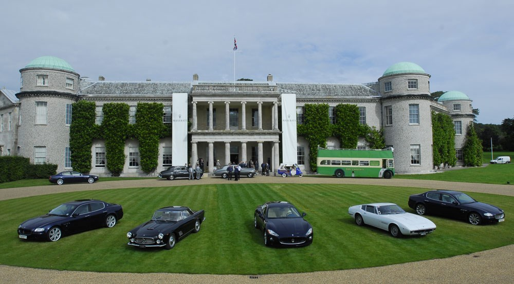 Hamilton Heads Goodwood Line Up By Car Magazine