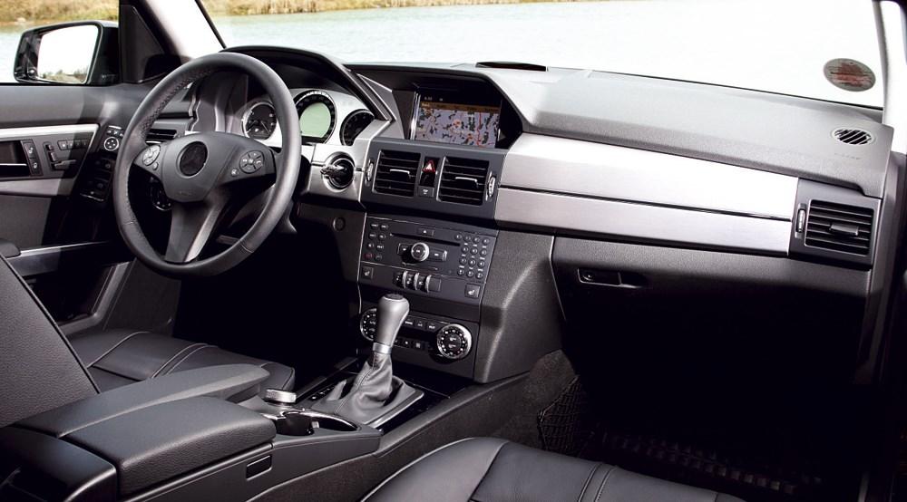 ... Mercedes GLK 350 Interior