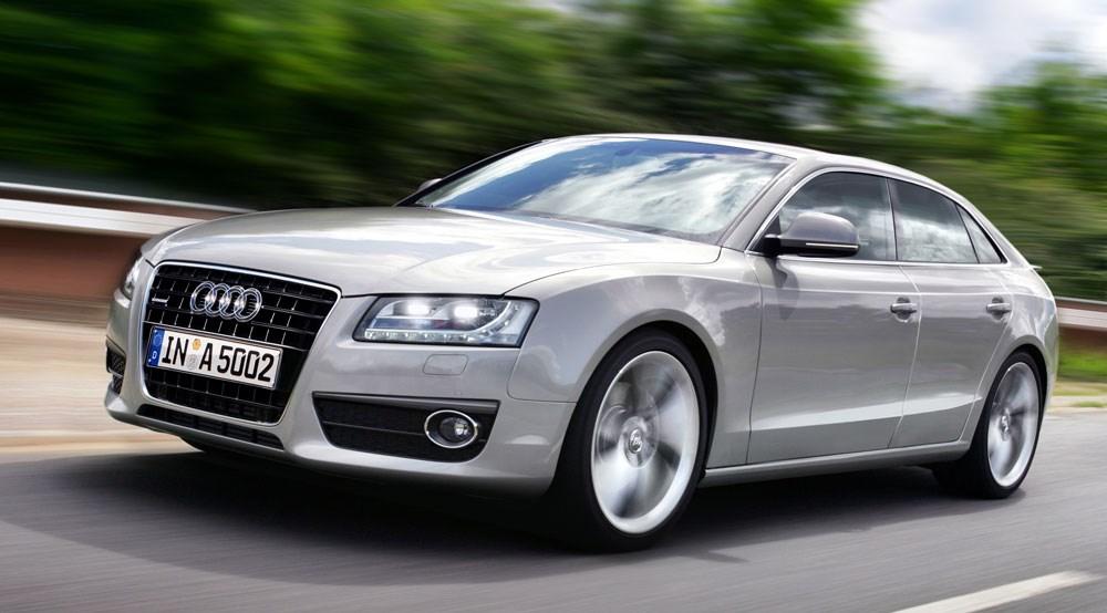 Audi A5 big