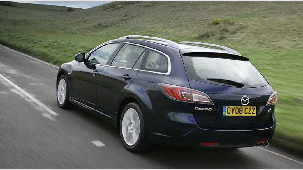 Mazda 6 20 D TS2 2008 Estate review by CAR Magazine