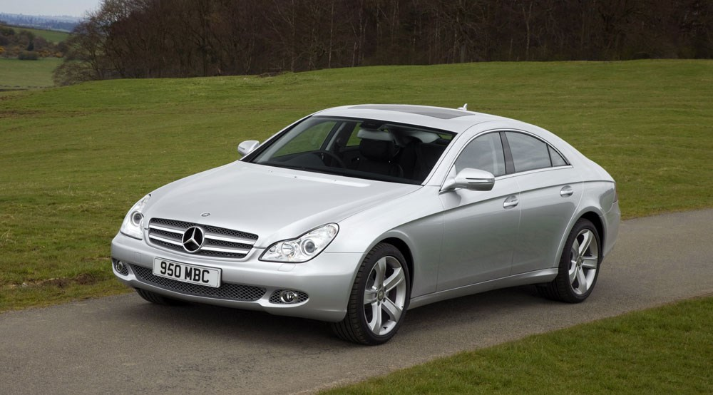mercedes cls320 cdi facelift 2008 review by car magazine. Black Bedroom Furniture Sets. Home Design Ideas
