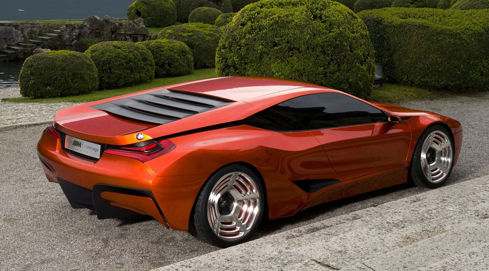 BMW M1 Hommage concept (2008): first official pictures by CAR Magazine