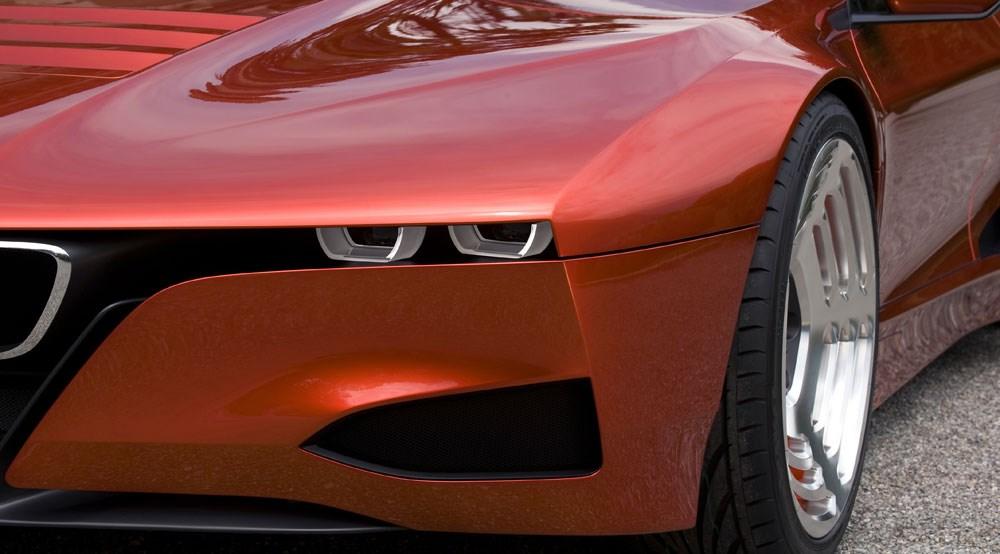 Bmw M1 Homage. BMW M1 Hommage concept (2008):