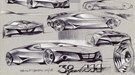 BMW M1 Hommage - the design sketches
