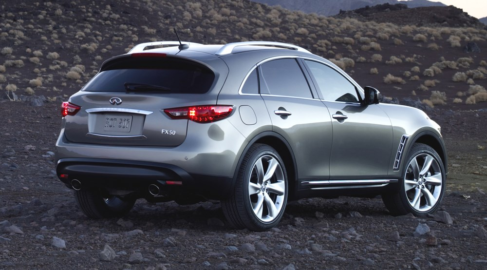 Infiniti Fx50 Car 2008 Review Car Magazine