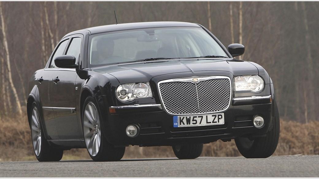 Chrysler 300C CRD SRT Design 2008 driven review by CAR Magazine