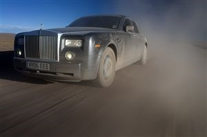 Rolls Royce across South America Day 1