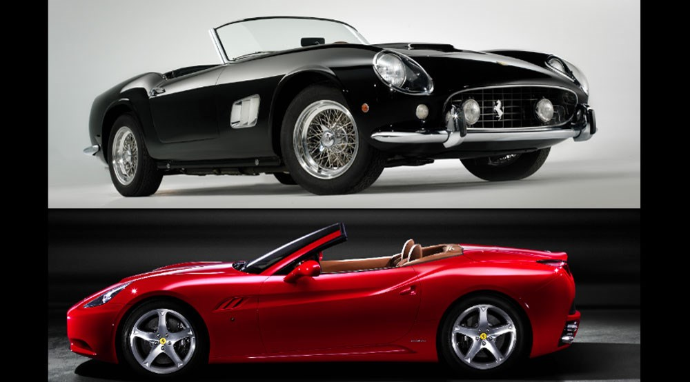 Ferrari California Vs Original 250 California Car Magazine