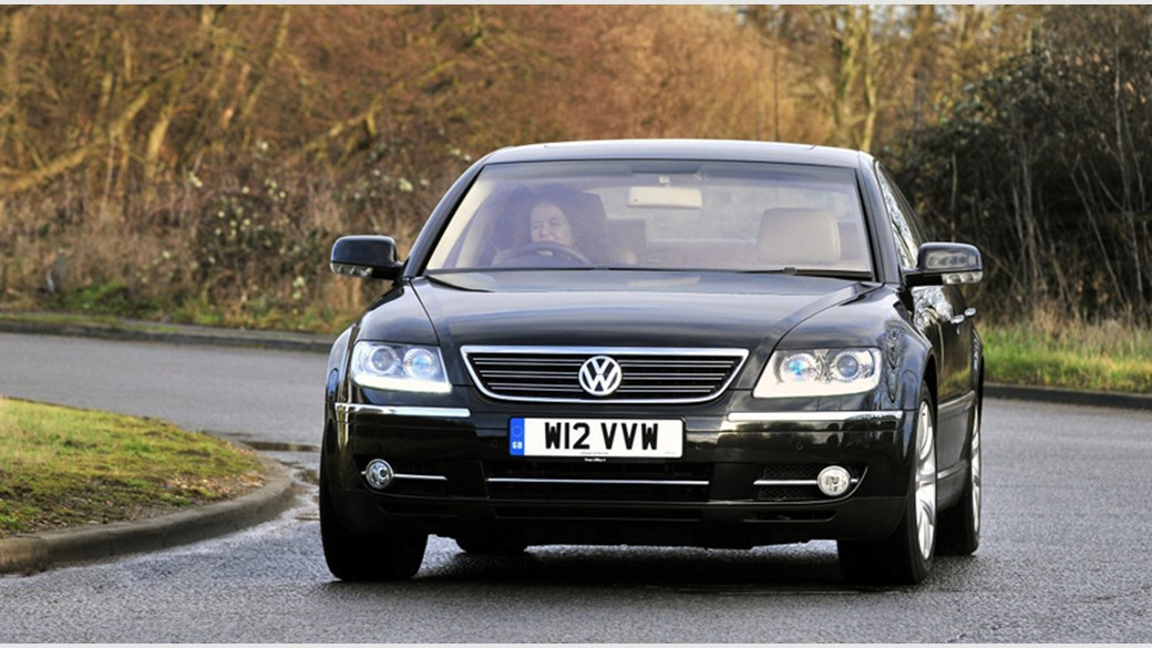 Volkswagen Phaeton Car Review Front Picture