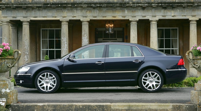 vw phaeton   tdi  review car magazine